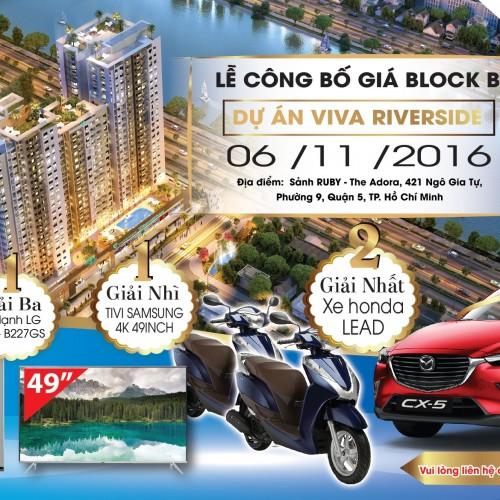 Vietcomreal sắp giới thiệu block B dự án Viva Riverside