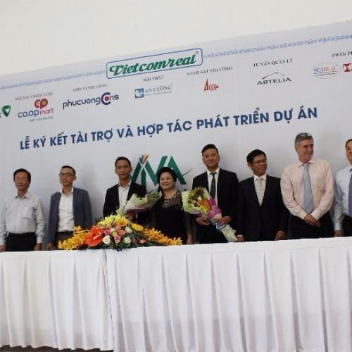 Lễ ký kết Tài trợ và Hợp tác phát triển Dự án khu Căn hộ cao cấp
