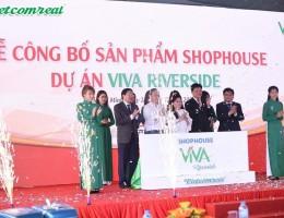 Vietcomreal ra mắt dòng sản phẩm Lô Thương Mại Viva Riverside
